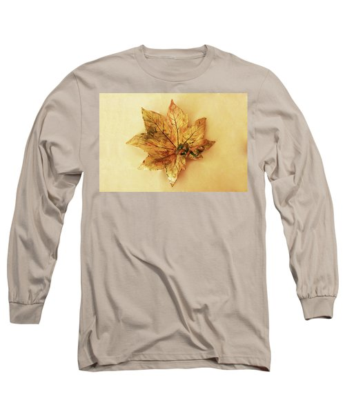 Leaf Plate1 Long Sleeve T-Shirt
