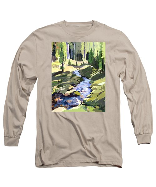 Lena Peak Stream Long Sleeve T-Shirt