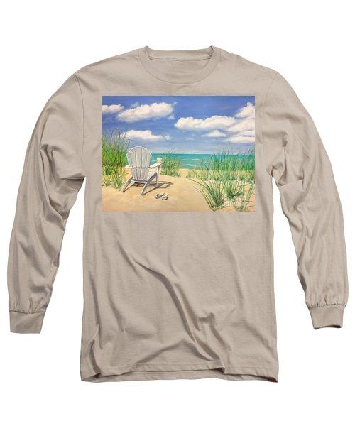Life Is A Beach Long Sleeve T-Shirt by Diane Diederich