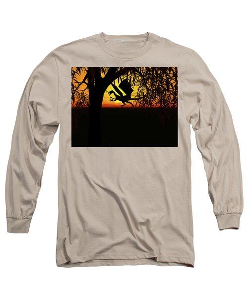 Lights And Shadow Long Sleeve T-Shirt