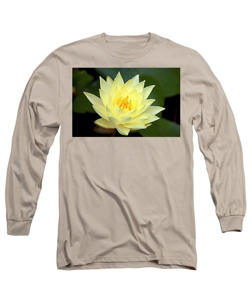 Long Sleeve T-Shirt featuring the photograph Lily by Jerry Cahill