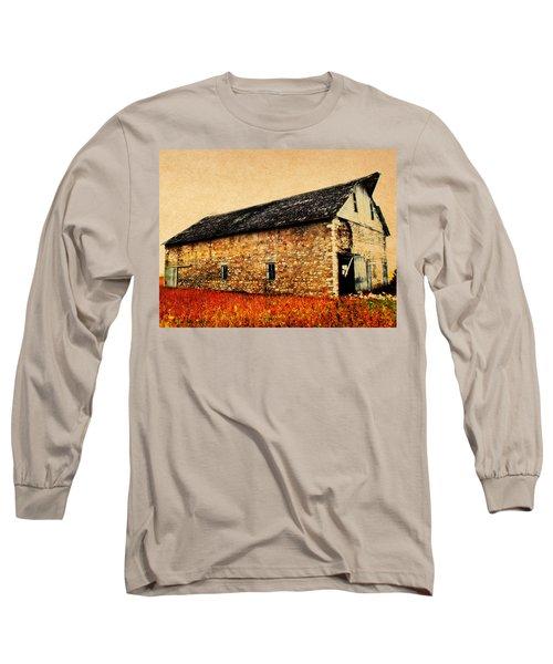 Lime Stone Barn Long Sleeve T-Shirt