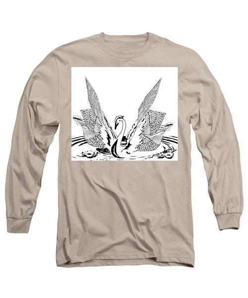 Magnificent Long Sleeve T-Shirt by Belinda Threeths