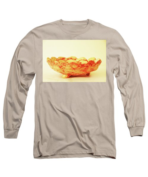Long Sleeve T-Shirt featuring the photograph Medium Patches Bowl1 by Itzhak Richter