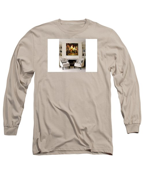Meeting Long Sleeve T-Shirt by Heather Roddy