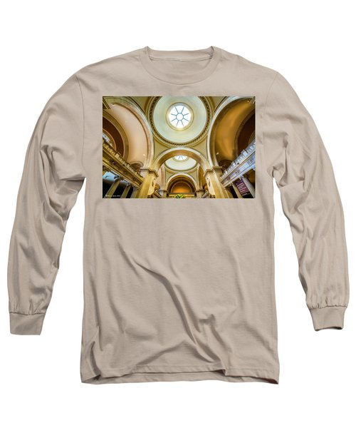 Long Sleeve T-Shirt featuring the photograph Metropolitan Museum Of New York by Marvin Spates