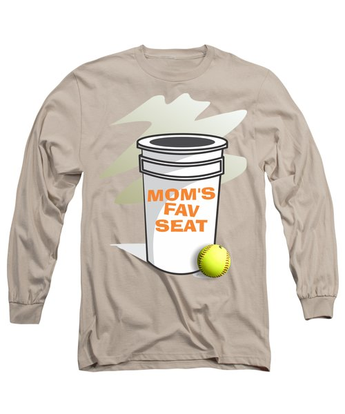 Mom's Favorite Seat Long Sleeve T-Shirt by Jerry Watkins