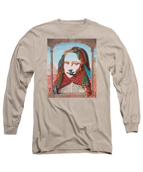 Mona Lisa. Air Long Sleeve T-Shirt