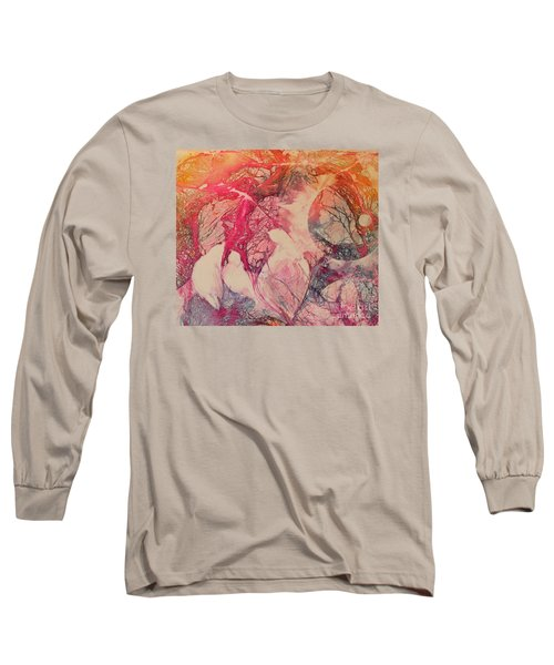 Moonsong Long Sleeve T-Shirt by Elizabeth Carr