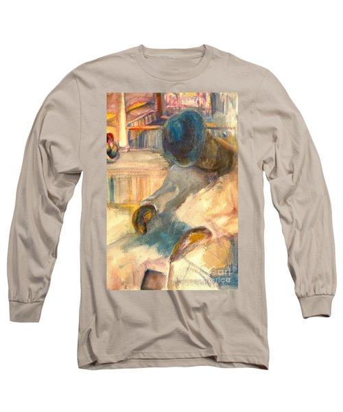 Mr Hunters Porch Long Sleeve T-Shirt by Daun Soden-Greene