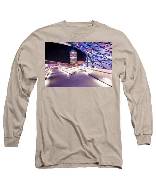 Munich - Bmw Modern And Futuristic Long Sleeve T-Shirt