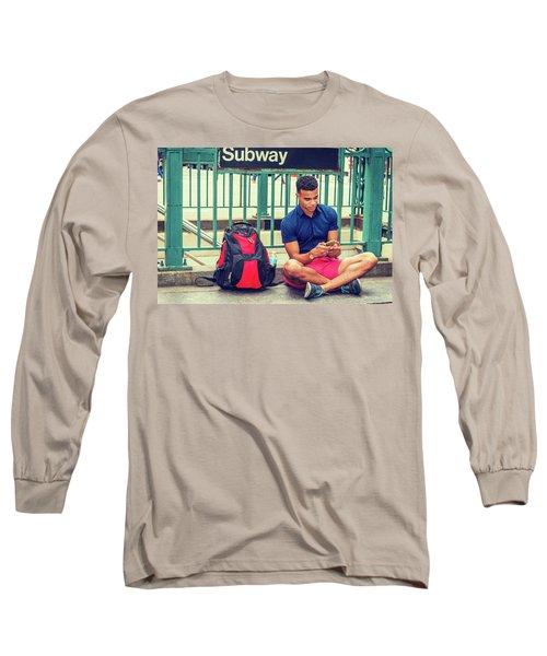 New York Subway Station Long Sleeve T-Shirt