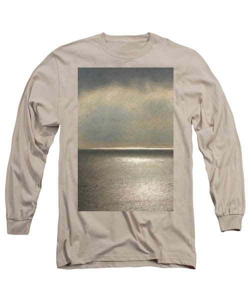 Not Quite Rothko - Twilight Silver Long Sleeve T-Shirt