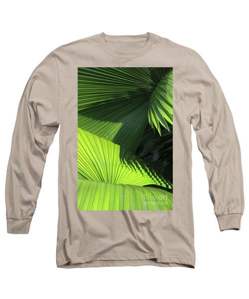 Palm Patterns Long Sleeve T-Shirt