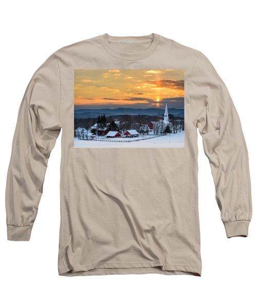 Peace Over Peacham Long Sleeve T-Shirt