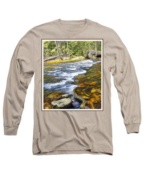 Pennsylvania Mountain Stream Long Sleeve T-Shirt