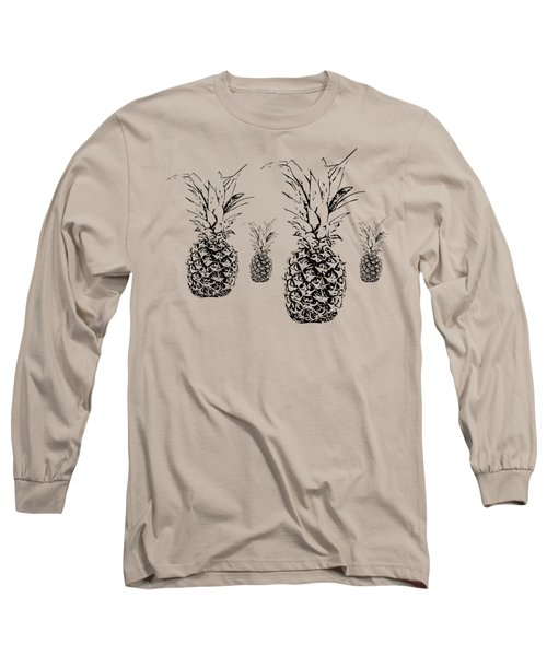 Pineapple Long Sleeve T-Shirt by Daniel Precht