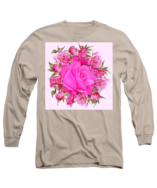 Pink Magnificence Long Sleeve T-Shirt