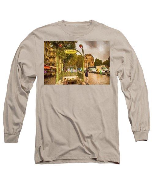 Place St. Michel Long Sleeve T-Shirt
