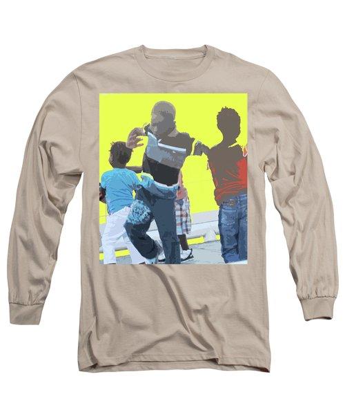 Play Long Sleeve T-Shirt by Ian  MacDonald