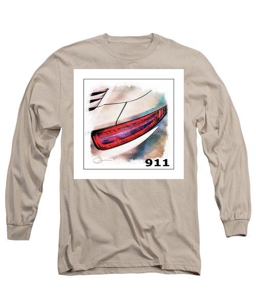 Porsche 911 Long Sleeve T-Shirt by Robert Smith