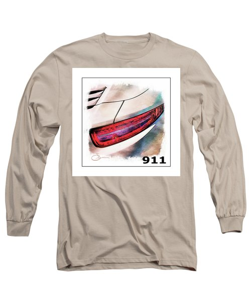 Porsche 911 Long Sleeve T-Shirt