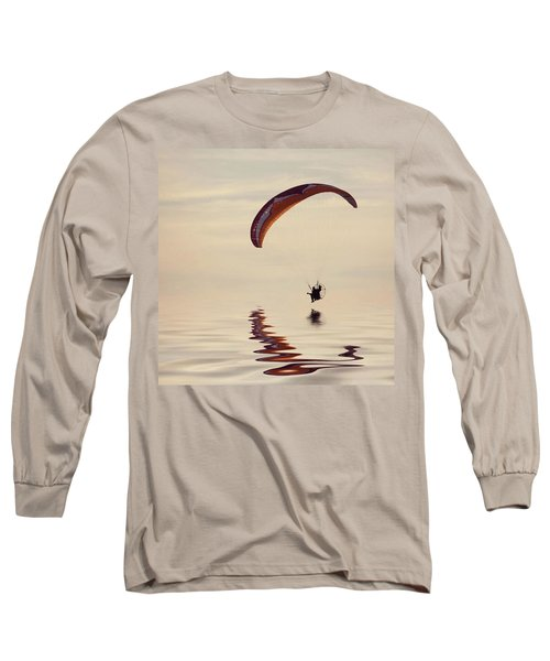 Powered Paraglider Long Sleeve T-Shirt