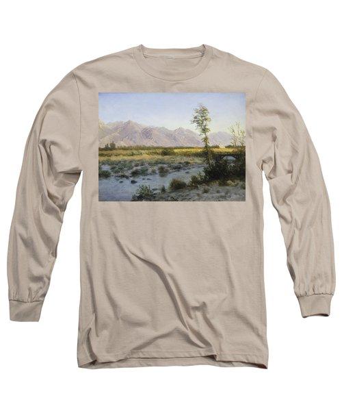Prairie Landscape Long Sleeve T-Shirt