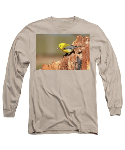 Prothonotary Warbler Long Sleeve T-Shirt