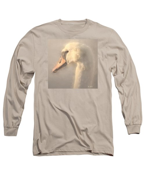 Long Sleeve T-Shirt featuring the photograph Purity by Rose-Maries Pictures