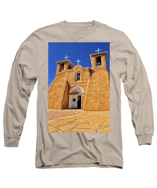 Ranchos De Taos Church  Long Sleeve T-Shirt