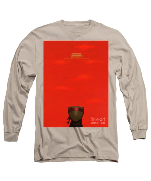 Red Impression Long Sleeve T-Shirt