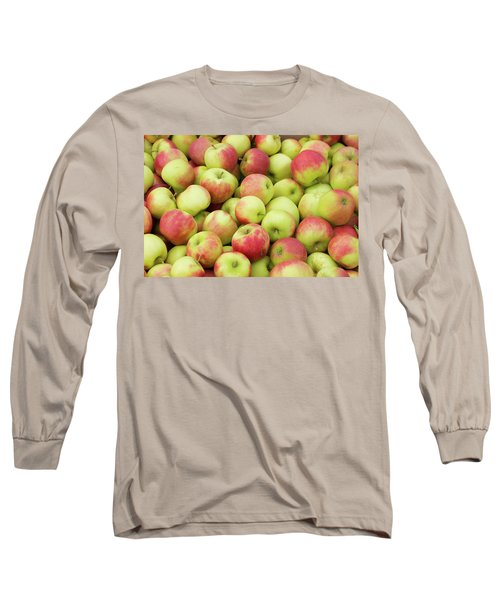 Ripe Apples Long Sleeve T-Shirt by Hans Engbers