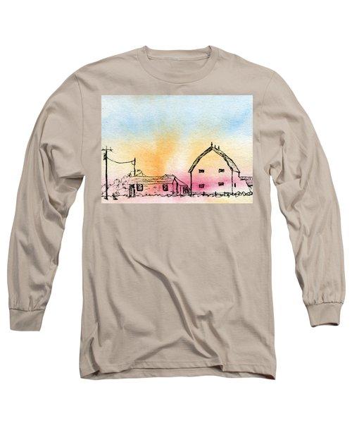 Rural Nostalgia Long Sleeve T-Shirt