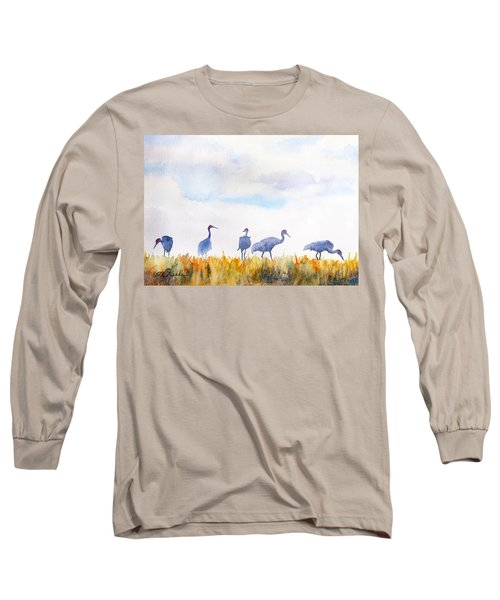 Sandhill Skyline Long Sleeve T-Shirt