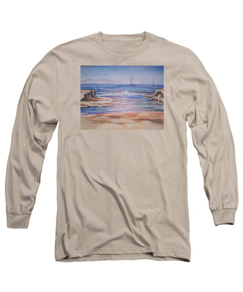 Santa Cruz Long Sleeve T-Shirt by Becky Chappell