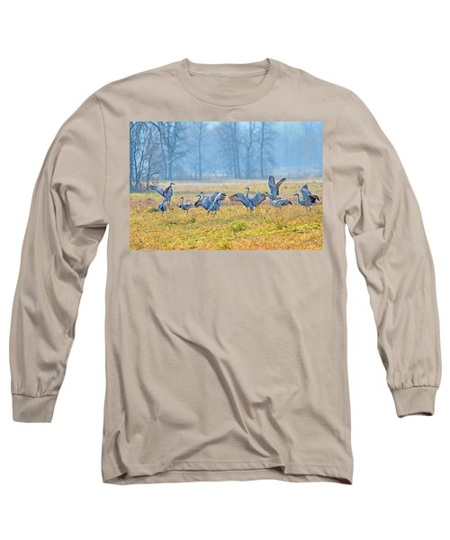 Long Sleeve T-Shirt featuring the photograph Saturday Night by Tony Beck
