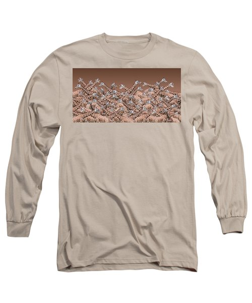 Sea Of Giraffes Long Sleeve T-Shirt