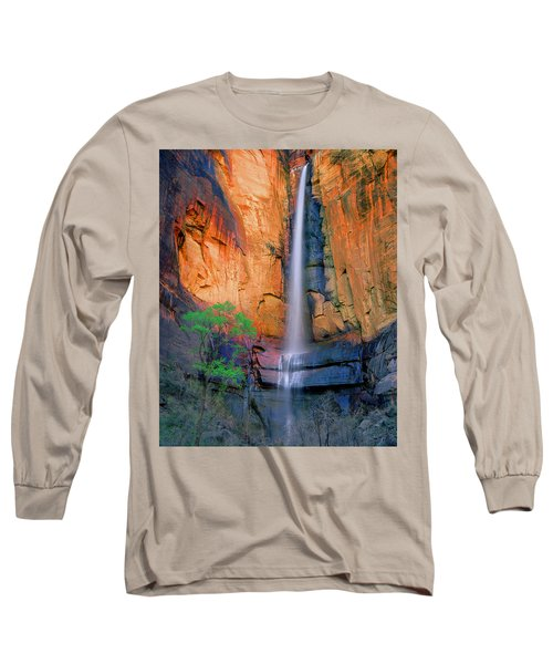 Sinawava Falls Long Sleeve T-Shirt