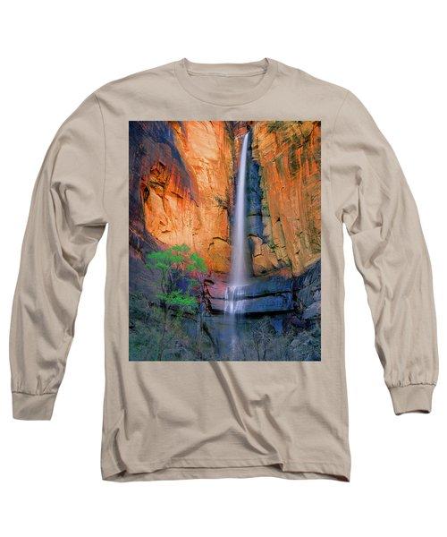 Sinawava Falls Long Sleeve T-Shirt