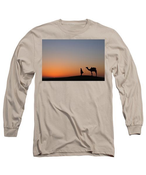 Skn 0866 Just Out Long Sleeve T-Shirt by Sunil Kapadia