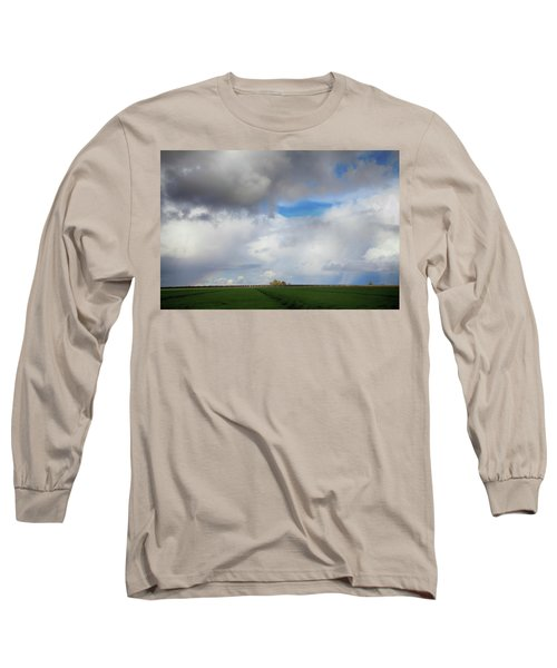 Long Sleeve T-Shirt featuring the photograph Skyward by Laurie Search