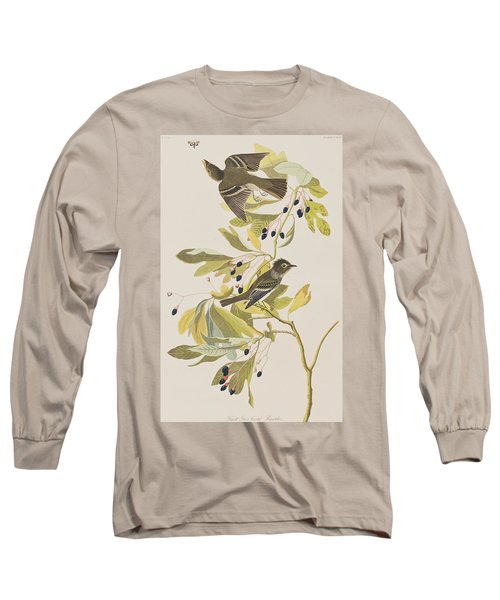 Small Green Crested Flycatcher Long Sleeve T-Shirt