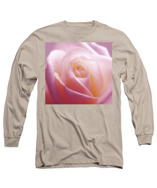 Soft Nostalgic Rose Long Sleeve T-Shirt