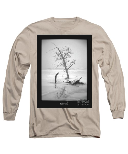 Solitude Long Sleeve T-Shirt by Sue Stefanowicz