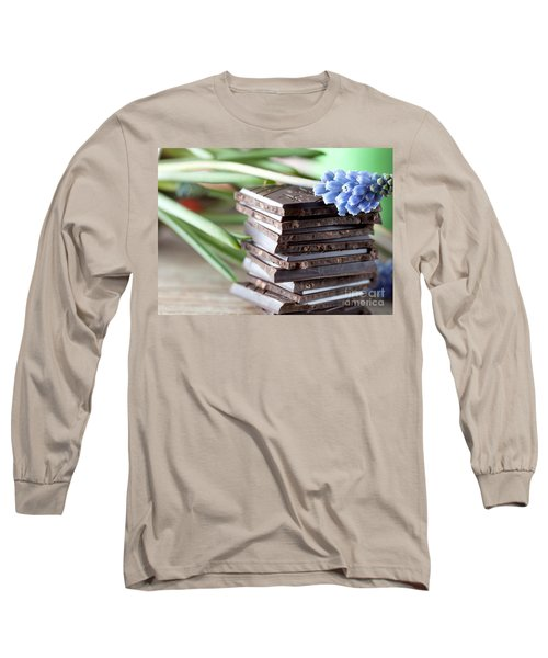 Stack Of Chocolate Long Sleeve T-Shirt