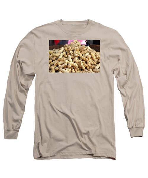 Steamed Peanuts Long Sleeve T-Shirt by Yali Shi