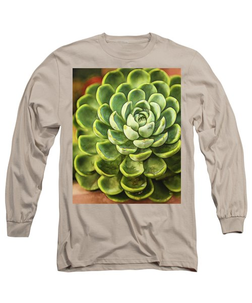 Succulent Long Sleeve T-Shirt