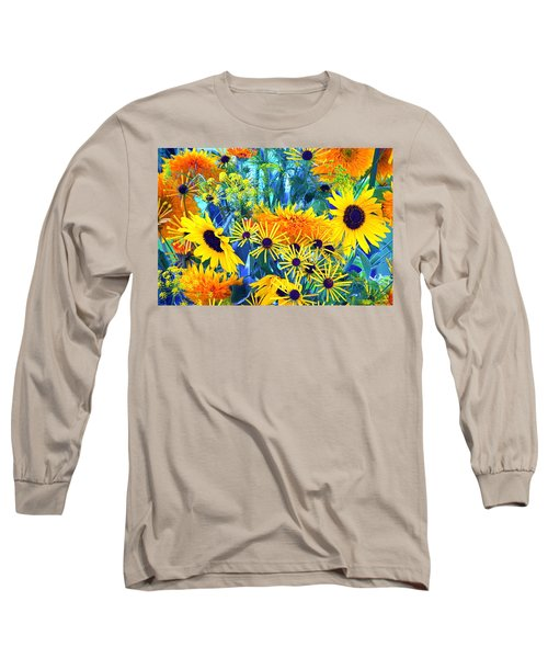 Long Sleeve T-Shirt featuring the photograph Summer Bouquet by Byron Varvarigos