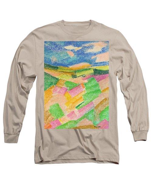 Summer Fields  Long Sleeve T-Shirt